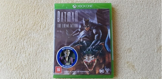 Jogo Batman The Enemy Within Xbox One Original