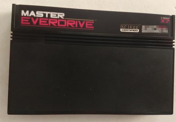 Everdrive Master X7 Orig. Krikzz Sem Cartão Roda G. Gear