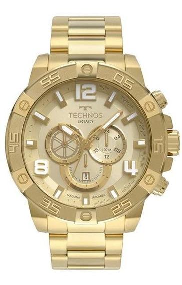 Relógio Technos Masculino Legacy Dourado Os2abn/4x