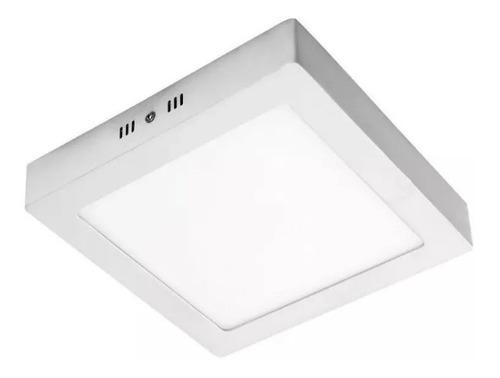 Aplique De Adosar Cuadrado Luz Led 6w 4000k 220v 11,5x3,5cm