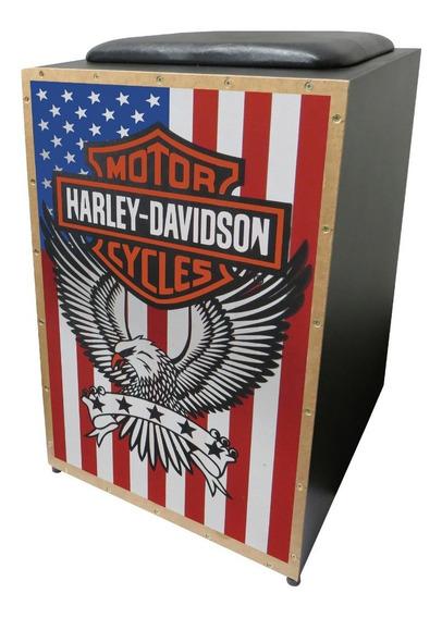 Cajon Jaguar Elétrico Harley Davidson Inclinado Color