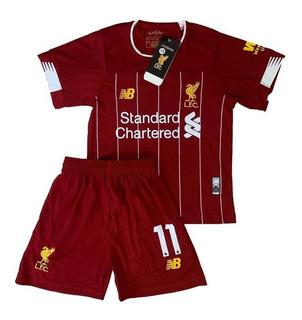 Infantil Do Liverpool Oficial 2019 - Salah Pronta Entrega
