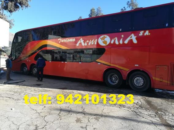 Vendo Un Omnibus Interprovincial Bus Scania K380 Año 2010