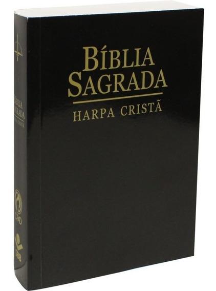 Bíblia Sagrada Letra Maior Com Harpa