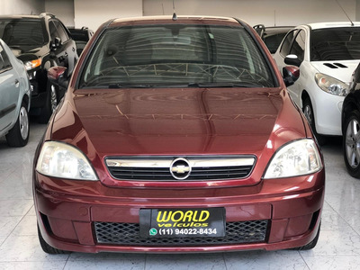 Chevrolet Corsa 1.4 Mpfi Premium 8v 4 P Manual 2009 Flex