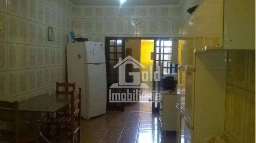 Casa Com 2 Dormitórios À Venda, 250 M² Por R$ 180.000 - Planalto Verde - Ribeirão Preto/sp - Ca1447
