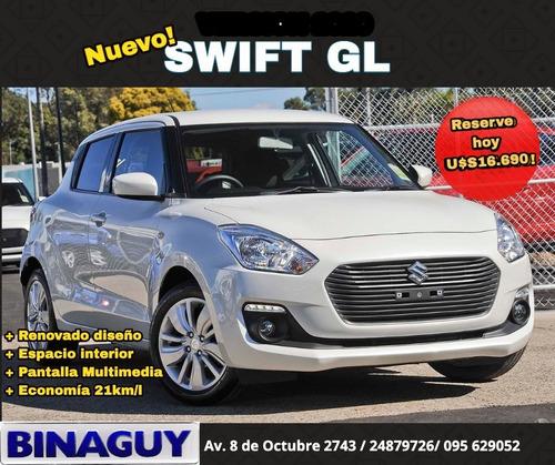 Suzuki Swift Gl 1.2 / Full / U$s16.690 / Permuto Y Financio!
