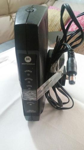 Imagen 1 de 3 de  Modem Cable Motorola  Para Internet De Cable