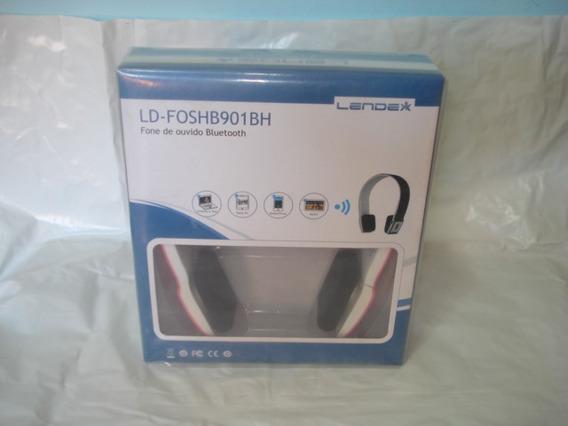 Fone De Ouvido Tipo Headphone Lendex - Ld-f0sh901bh Novo