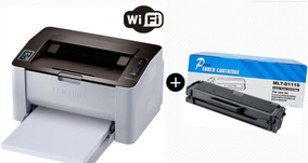 Impressora Samsung Laser Mono Sl-m2020w Wifi + Toner Extra