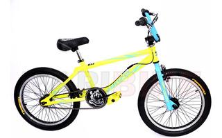 Bicicleta Bmx Freestyle Venzo Inferno Rod 20 Niño Rotor 12 Cuotas Sin Interes