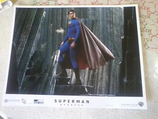 Afiche Foto Pelicula W B Superman Regresa