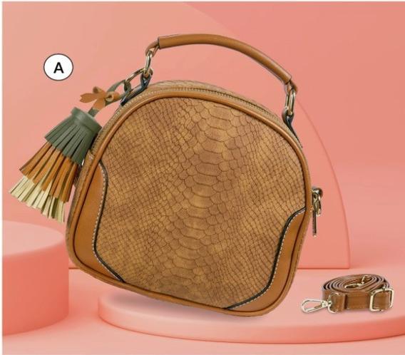 Bolsa Dama Camel 854-33 Cklass Hand Bags 1-20 J