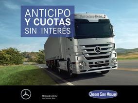 Camión Mercedes Benz Actros 1846 S/36 Tech Elev Año 2018