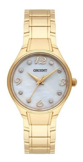 Relógio Orient Dourado Feminino 28mm Dourado Fgss0071-b2kx