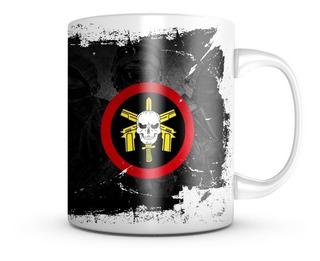 Caneca Bope Tropa De Elite Faca Na Caveira Militar