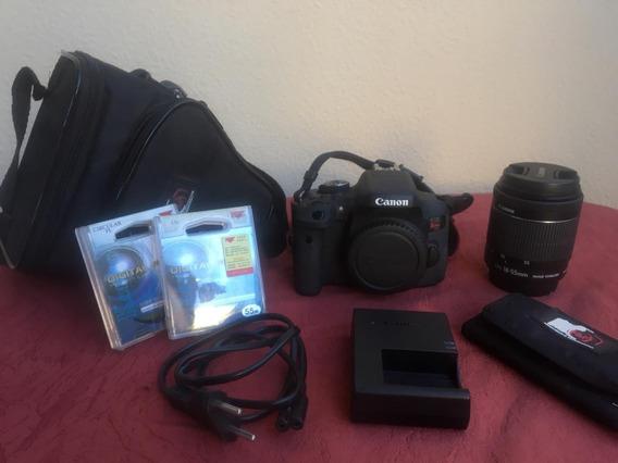 Câmera Canon Dslr T6i