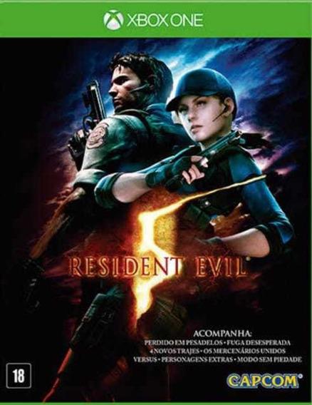 Resindent Evil 5 - Xbox One - Midia Digital + Brinde