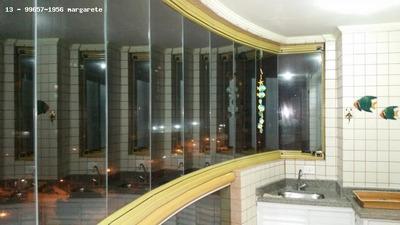 Apartamento 1 Dormitório Para Venda Em Praia Grande, Vila Tupi, 1 Dormitório, 1 Banheiro, 1 Vaga - 170