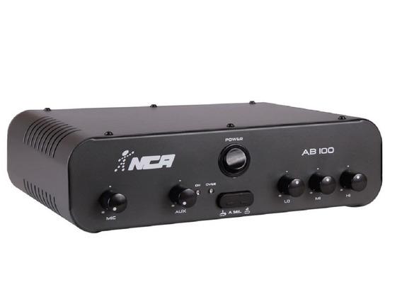 Potência Amplificador De Mesa Compacto Nca - Ab100 R4 - 100w