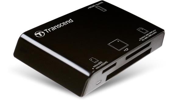 Leitor De Cartão Memória Cf Sd Micro Transcend Usb 3.1 Rdf8
