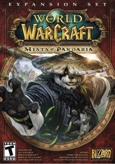 World Of Warcraft Mists Of Pandaria - Pc / Mac - Lacrado