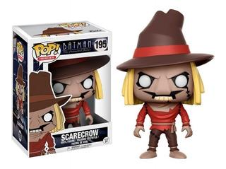 Funko Pop : Batman - Scarecrow (el Espantapajaros) #195