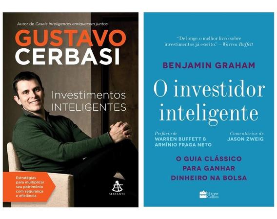 Livros Investimentos Inteligentes + Investidor Inteligente