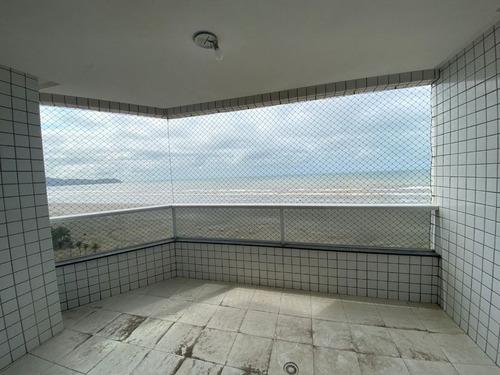 Imagem 1 de 30 de Apartamento De 4 Dormitórios Mobiliado Com Vista Livre Para O Mar - Ap2771