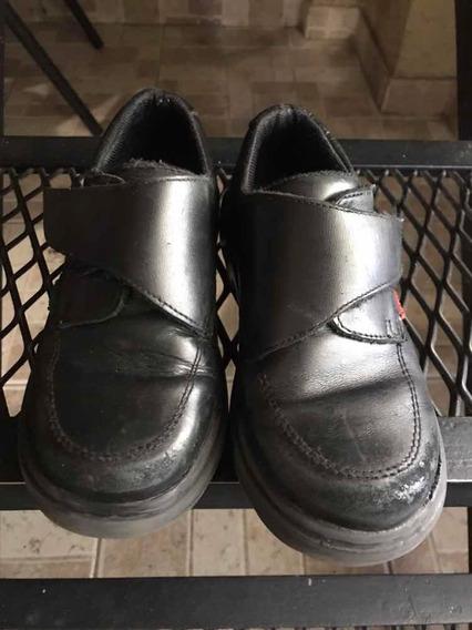 Zapatos Escolar Niño Talle 30 Usado