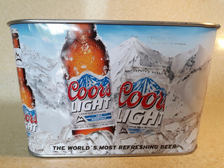 Hielera Cerveza Coors Aluminio