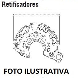 Ponte Retificadora P/ Gl1 1.8 16v 14- 120a - Corolla