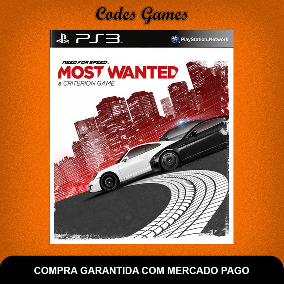 Need For Speed Most Wanted- Ps3 - Pronta Entrega