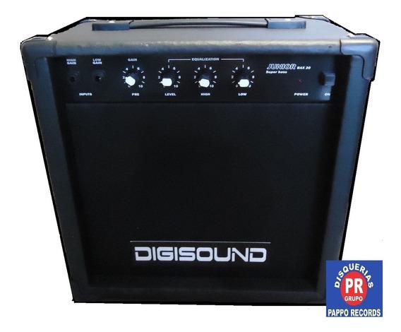 Amplificador De Bajo Digisound 20w. Pappo Records