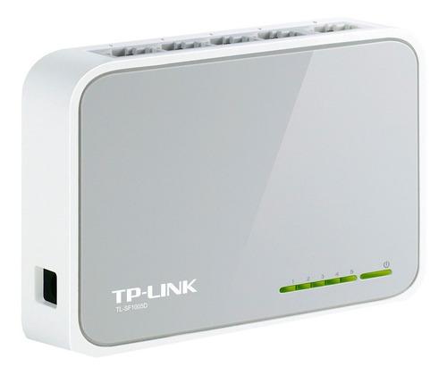 Switch 5 Bocas Tp-link Tl-sf1005d 10/100 Mexx 4