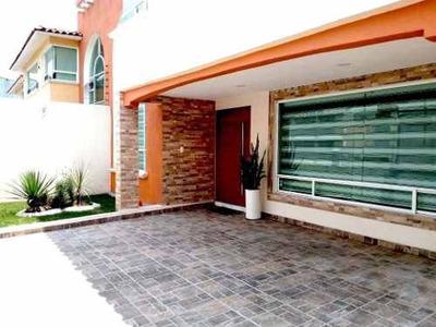 (crm-1391-2891) Venta De Casa Remodelada En Casa Blanca Metepec