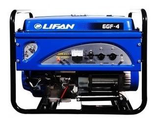 Grupo Electrógeno Lifan 6gf4y 6500 Watts Gas Premium