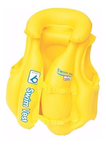 Chaleco Salvavida Inflable Step B Swimm Safe Bestway 51x46cm