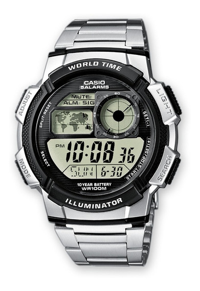 Reloj Casio Para Caballero Digital Ae1000wd-1avdf