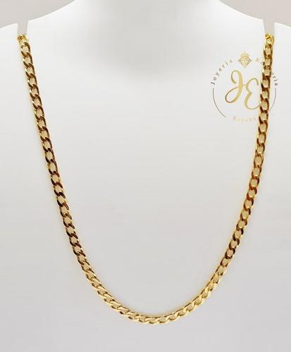 Cadena Oro Amarillo Ley 18k Lomo Cc_28 Hombre Jespaña Collar