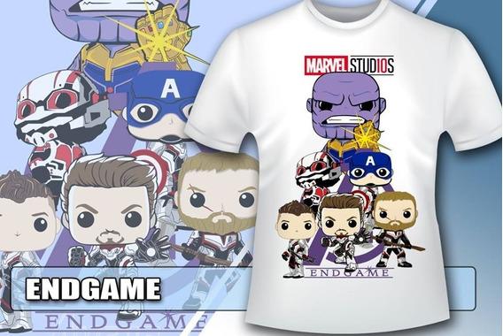 Pack Avengers Endgame Funkos Png Vectores Sublimación Remera