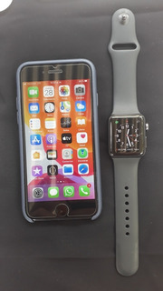 iPhone 7 De 32 Gb Y Apple Watch Serie 3 De 38mm