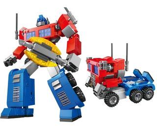 Transformers Optimus Prime Bloques Construccion Rompecabezas