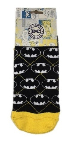 Medias Dc - Batman Rombos - Dw Clothing