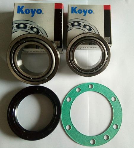 Kit Rolamento Cubo Roda Troller 2002 Até 2014 Koyo