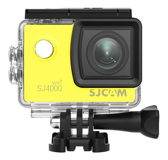Camera Sj4000 Wifi Sjcam Original Full Hd Filmadora Amarela