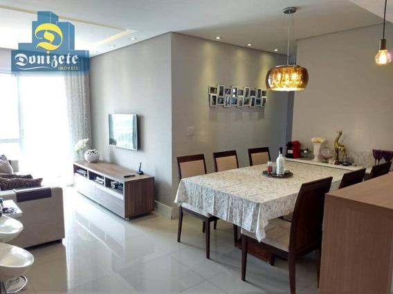 Apartamento Com 3 Dormitórios À Venda, 59 M² Por R$ 345.000,00 - Jardim Utinga - Santo André/sp - Ap10258