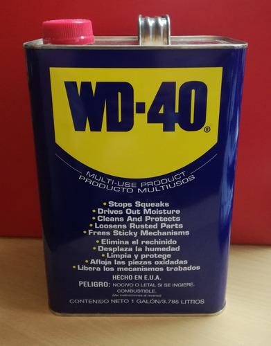 Aceite Penetrante Lubricante Wd-40 Galón