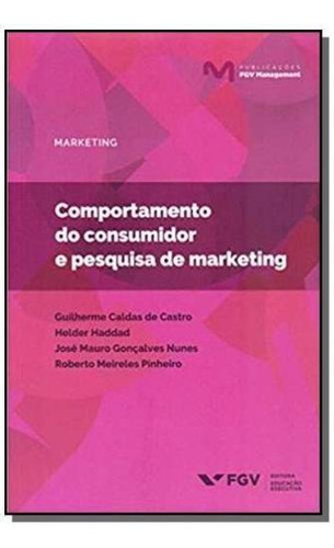 Comportamento Do Consumidor E Pesquisa De Marketing