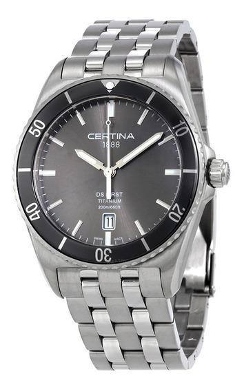 Reloj Certina Ds First Ceramic De Titanio C0144104408100 Nvo